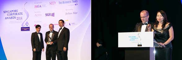 9th Singapore Corporate  Awards